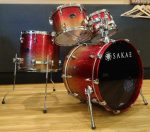 SAKAE DRUMS/Almightyバーチ・Red & Gold(赤系)