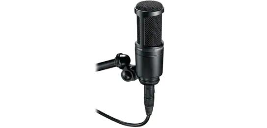1泊レンタル1,200円+税から。audio technica(オーディオテクニカ)/AT2020コンデンサーマイク