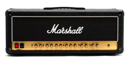 1泊レンタル4,490円+税から。MARSHALL(マーシャル)/DSL100Hギターヘッドアンプ