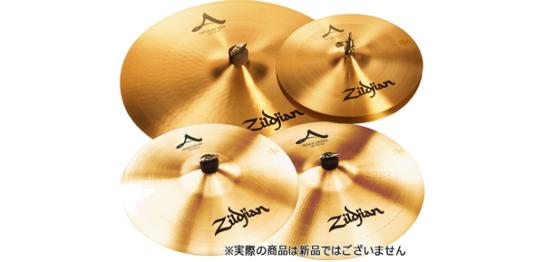 1泊レンタル2,080円+税から。Zildjian(ジルジャン)/A Zildjianシリーズシンバルセット