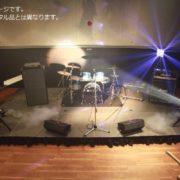 1泊レンタル22,560円+税から。ドラムセット、ギターアンプ、ベースアンプ、キーボード(電子ピアノ・シンセサイザー)のバンド楽器機材セット